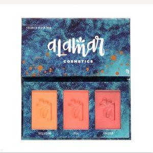 NEW Alamar Colorete Blush Trio Pallet